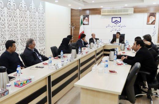 جلسه معارفه اعضای کمیسیون های تخصصی برگزار شد